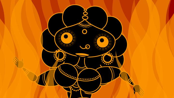 Sita in Fire